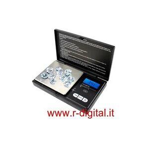 BILANCINO DIGITALE DI PRECISIONE 500 Gr x 0.1 Gr PORTATILE RICHIUDIBILE LED BLU PDPqucxy-07223254-871350123