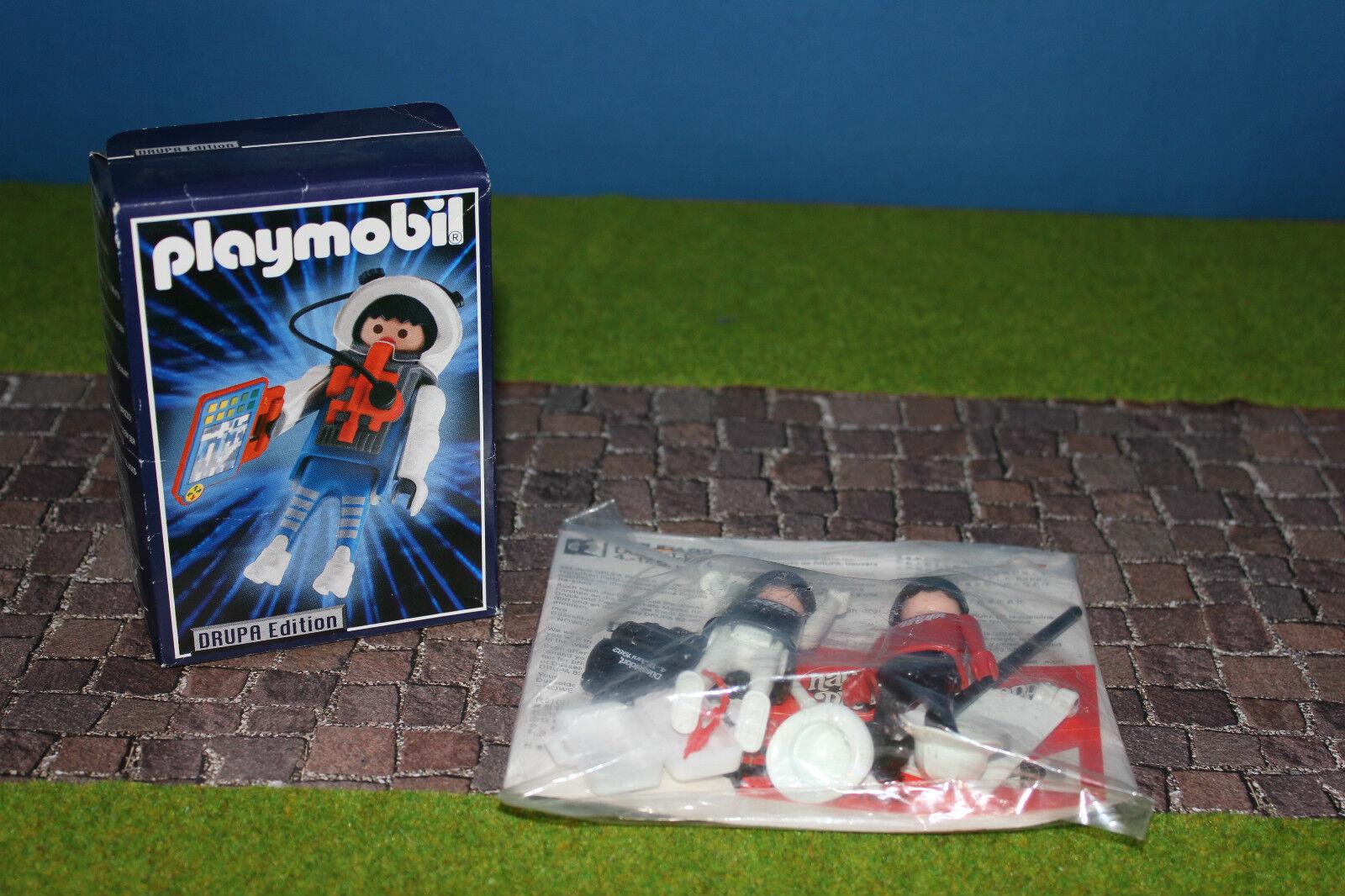 PLAYMOBIL drupa 1982 PROMO personaggio pubblicitario personaggio Nuovo/Scatola Originale