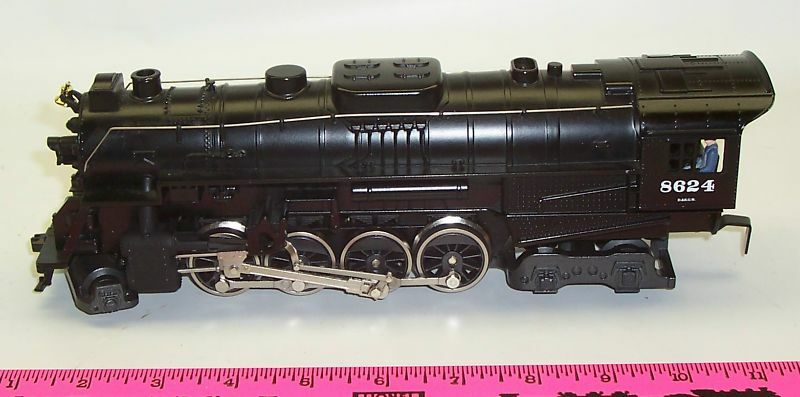 New Lionel 8624 Rio Grande 2-8-4 Steam locomotive