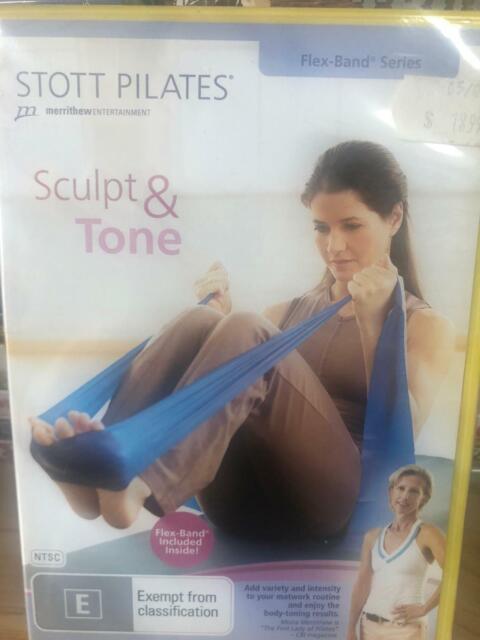 NEW Stott Pilates - Sculpt And Tone (Flex-Band Series) Level 1 - DVD - FREE POST