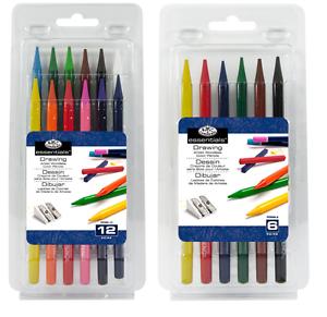 Brulle-Matite-Colorate-Artista-Di-Colorazione-Disegnare-Fare-Schizzi-in