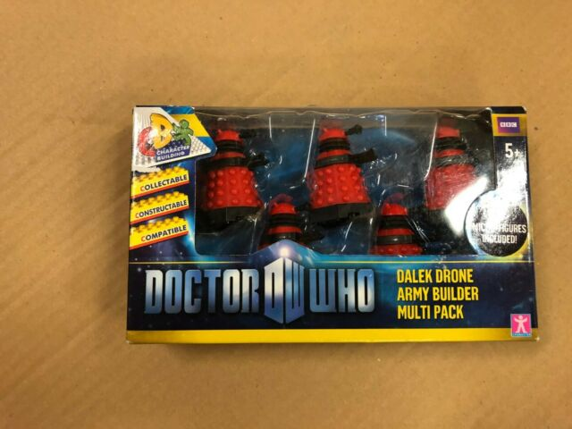 Doctor Who Character Building Dalek Drone Army Builder Pack *BNIB*