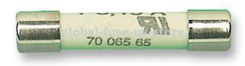SIBA Ceramic Tube Time-Lag Cylindrical Fuse 7006565 1.6A T1.6A H500V
