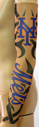Youth NY New York Mets Tribal Tattoo Arm Sleeve Sun Block Nylon Baseball MLB
