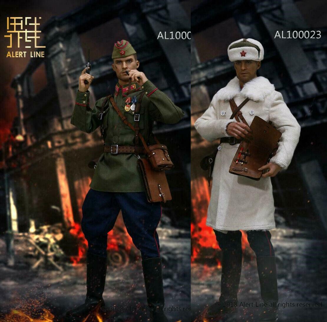 Alerte ligne 1 6 guerre mondiale deux 1942 rouge Army Infantry Lieutenant soldat Clothes AL10002