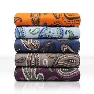 Decorative-Paisley-Cotton-Flannel-Sheet-Set