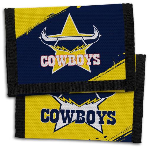 NRL North Queensland Cowboys Nylon Sports Wallet