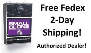 New Electro-Harmonix EHX Small Clone Analog Chorus Guitar Effects Pedal