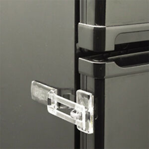 Image Is Loading Clear Or White Fridge Guard Refrigerator Door Latch
