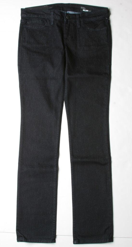 William Rast Sadie Straight Leg Jeans (29) Savannah Blk