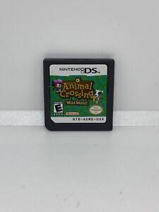 Animal-Crossing-Wild-World-Nintendo-DS-Lite-DSi-XL-3DS-2DS-Game