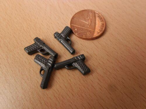 Playmobil pièces détachées-quatre Jouets pistolets-policier//voleur Figures NEW
