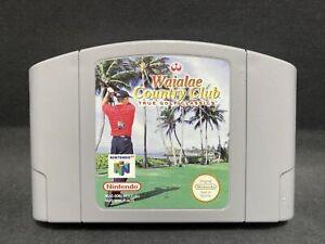 N64 Nintendo 64 Juego-Waialae Country Club: verdadero Golf CLASSICS-PAL