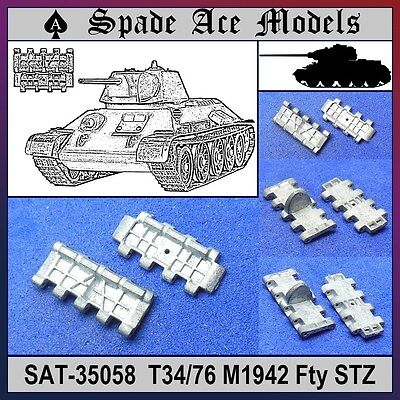 Spade Ace 1/35 35058 Metal Track Russian T-34/76 Model 1942 STZ