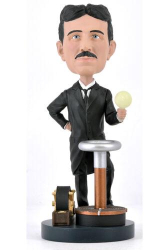 Royal Bobbles Bobble-Head Nikola Tesla Headknocker 20 cm