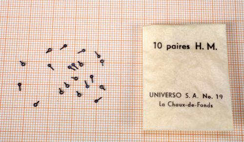 Nr Uhrzeiger 20 Stück 10 ZEIGER PAARE 388