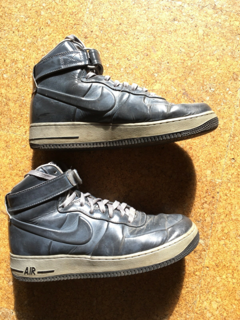 Sneakers, Nike Air Force One, str. 44,  Næsten som ny,…