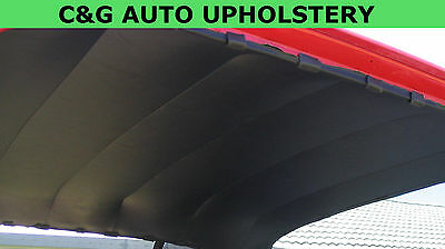 Holden fits HK HT HG kingswood belmont sedan headlining BLACK vinyl READY FIT