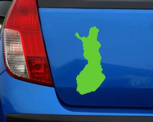 Samunshi Finnland Aufkleber   25 Farben 8 Größen