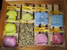 Post It Notes Bundle Lot Of 9 Different Shaped Packages Of Sticky Notes Pads