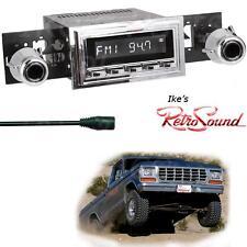 RetroSound 68-79 Ford F100/F150 Laguna-C Radio/3.5mm AUX-In for ipod/Push Button