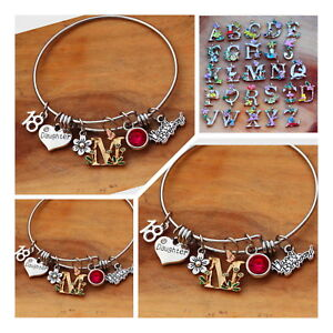 Image Is Loading Personalised BIRTHDAY Gifts Bracelet Mum Sister Nanny Cousin