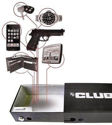 NEW Hand Gun Pistol HandGun Safe Lock Box Cash Cable Security LockBox Travel Car