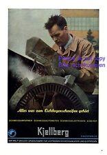 Kjellberg Finsterwalde XL Reklame 1941 Fabrik für Lichtbogen schweissen Anlage +
