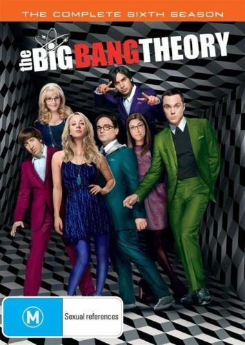 1 of 1 - The Big Bang Theory : Season 6 (DVD, 2013, 3-Disc Set)