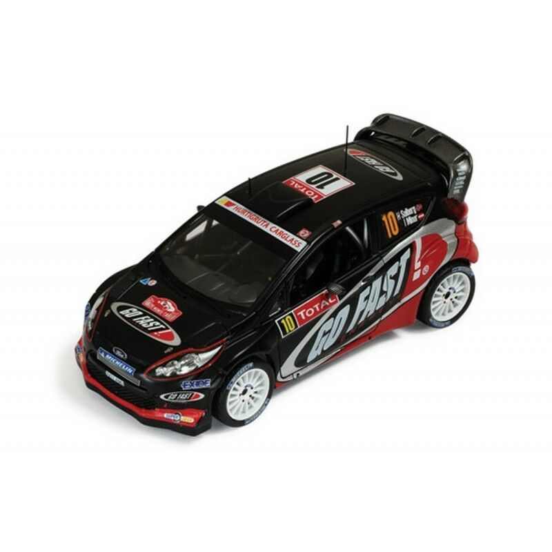 IXO RAM495 FORD FIESTA RS WRC N.10 13th MONTE CARLO 2012 SOLBERG-MINOR 1 43