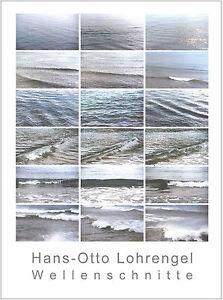 Kunstdruck-Edition - WELLENSCHNITTE - 60 x 80 cm, neues Blatt signiert+limitiert
