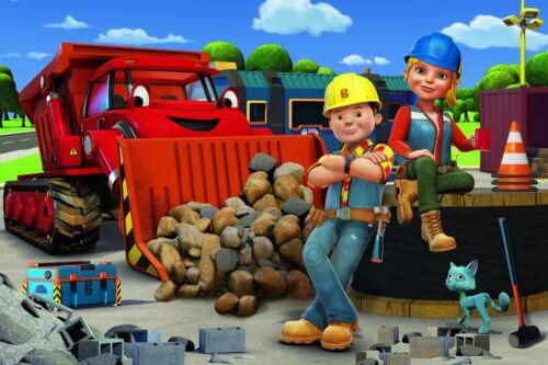 Trefl 60 Pièce Enfants Grand Bob the Builder Wendy et équipage House Jigsaw Puzzle