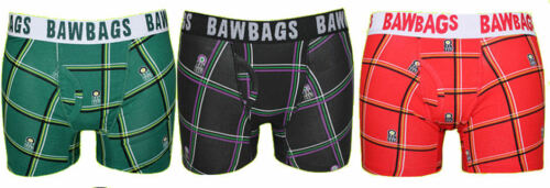 BawBags 3 pack Boxers Tartan
