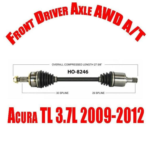 Front Driver Side CV Shaft Axle For Acura TL 3.7L