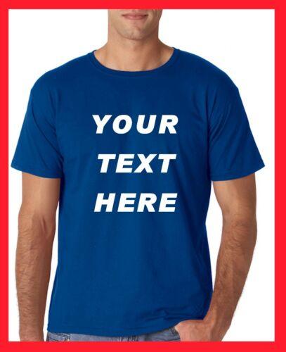 Custom Personalized T Shirts Regular Sizes camisetas print your TEXT
