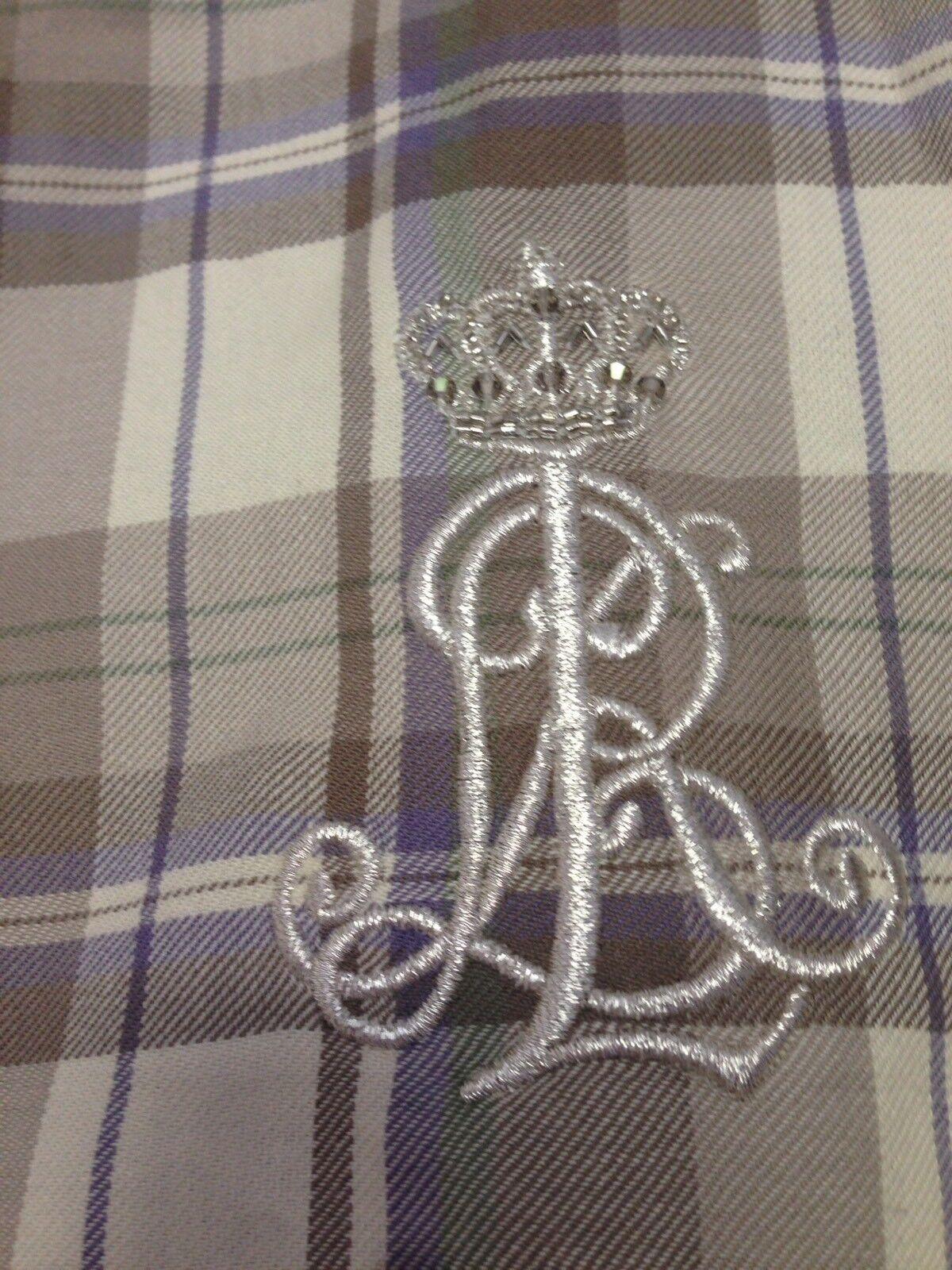Ralph Ralph Ralph Lauren cotone check Camicia Taglia S Prezzo Consigliato  NUOVO 10dc47