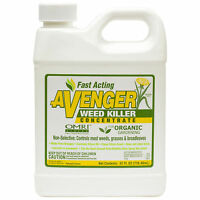 Organic Weed Grass Killer Concentrate Omri Listed 1qt Avenger Organic Herbicide