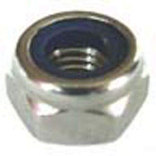 Nylock M8 NYLON INSERTO IN ACCIAIO INOX x25 M8 inox Nyloc NUTS 8mm nylocs