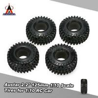 4pcs Austar 2.2 125mm 1/10 Scale Tires For 1/10 Rc4wd D90 Rc Rock Crawler N0c9
