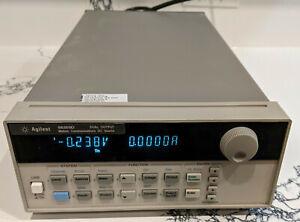 HP Agilent Keysight 66309D Dual Output Mobile Communications DC Source w/ DVM