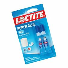 Loctite Super Glue Gel Two 2 Gram Tubes 1399965 2 Pack