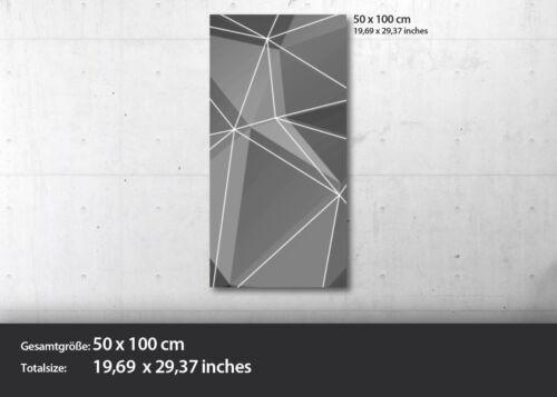 EG4100501734 MENSCH PLANETEN ROT ABSTRAK HD GlasBild Wandbilder XL 50 x 100 cm