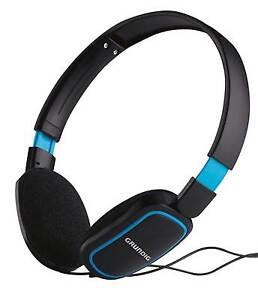 GRUNDIG-Stereokopfhoerer-Heim-Audio-amp-HiFi-MP3-CD-TV-DJ-Kopfhoerer-schwarz-o-weiss