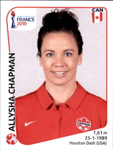 Kanada Panini Frauen WM 2019 Sticker 333 Aliysha Chapman