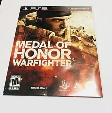Medal of Honor: Warfighter -- Limited Edition (Sony PlayStation 3, 2012)