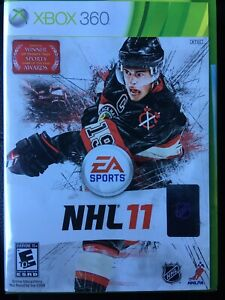 EA Sports NHL 11 (Microsoft Xbox 360) Factory Sealed & Brand New + Free Shipping