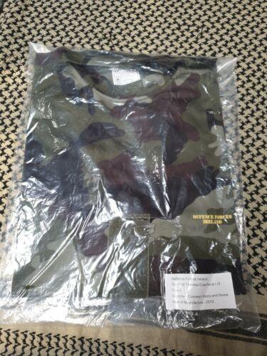 Original Irish DPM Operational Thermal Crew Neck Long Sleeve T Shirt Size Large