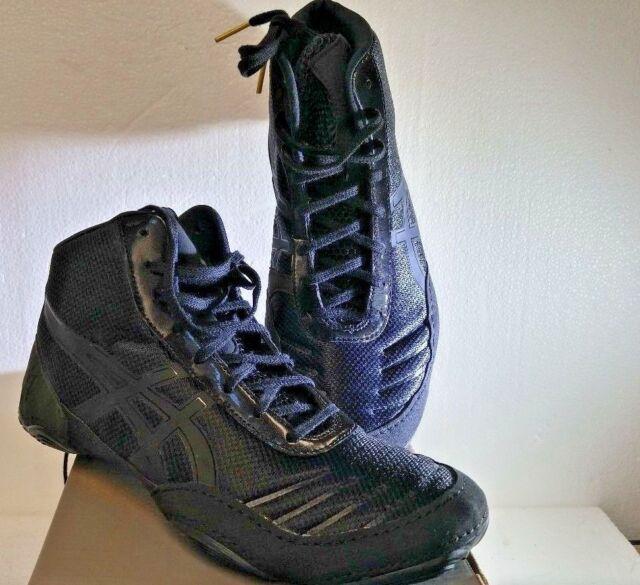 e37df44b010 ASICS JB Elite V 2.0 Wrestling Shoes J501N-9099 Black Onyx Jordan Burroughs  SZ8