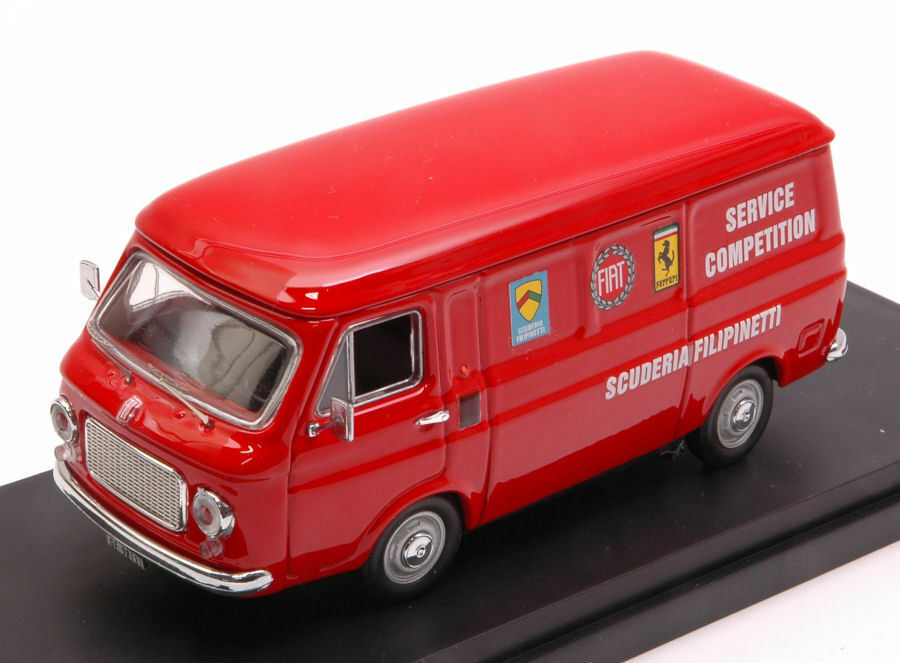 Fiat 238 assistenza Corse Scuderia Filipinetti 1970 1 43 Model rio4526 Rio