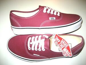 Details about Vans Authentic Mens Dry Rose True White canvas Skate Boat shoes Size 9 NWT
